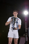 Tom Wood(England) at the official launch of the RBS Six Nations rugby tournament at the Hurlingham Club in London..