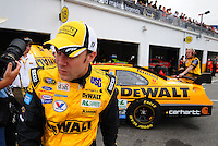 Feb 9, 2008; Daytona, FL, USA; Nascar Sprint Cup Series driver Matt Kenseth during practice for the Daytona 500 at Daytona International Speedway. Mandatory Credit: Mark J. Rebilas-US PRESSWIRE