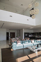 Beach house at Al-Khiran area, Kuwait. Architecture and interior design and furnishing.