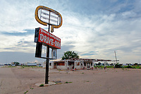 "Abandoned ""Drive-Inn"" Restaurant in Tucumcari, NM"