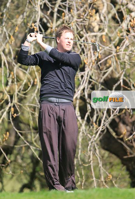 Gerard Casey (Elm Park) during the Headfort Scratch Cup, Kells, Co Meath 21/4/13.Picture: Thos Caffrey www.golffile.ie...
