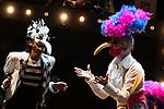 Artists Fernando Soto (R) and Tomasito during the performance of Chufla. September 25, 2019. (ALTERPHOTOS/Johana Hernandez)