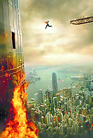Skyscraper (2018) <br /> Promotional art with Dwayne Johnson<br /> *Filmstill - Editorial Use Only*<br /> CAP/MFS<br /> Image supplied by Capital Pictures