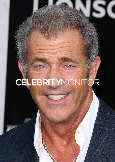 HOLLYWOOD, LOS ANGELES, CA, USA - AUGUST 11: Mel Gibson at the Los Angeles Premiere Of Lionsgate Films' 'The Expendables 3' held at the TCL Chinese Theatre on August 11, 2014 in Hollywood, Los Angeles, California, United States. (Photo by Xavier Collin/Celebrity Monitor)