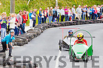 Action from the Gather by the Feale Soapbox Derby down Hill Road on Saturday afternoon.