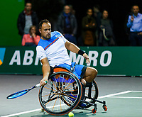 Rotterdam, The Netherlands, 12 Februari 2020, Wheelchair: Tom Egberink (NED).<br /> Photo: www.tennisimages.com