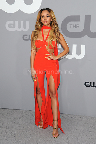 NEW YORK, NY - MAY 17: Vanessa Morgan at the 2018 CW Network Upfront at The London Hotel on May 17, 2018 in New York City. Credit: John Palmer/MediaPunch