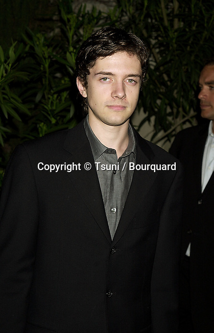 "Topher Grace arriving at the party to benefit  the Environment and Kick Off ""Campagn Hollywood"" in Los Angeles   3/19/2001  © Tsuni          -            GraceTopher01A.jpg"