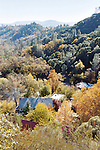 Harbin Hot Springs in autumn