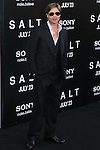"BRAD PITT. Arrivals to the World Premiere of Sony Pictures' ""Salt"" at Grauman's Chinese Theatre. Los Angeles, CA, USA. July 19, 2010. CAP/CEL. ©CelPh/Capital Pictures."