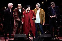 Los Angeles, CA - NOV 07:  Graham Nash, Charles Valentino, Joni Mitchell, Sauchuen, and James Taylor perform at 'Joni 75: A Birthday Celebration Live At The Dorothy Chandler Pavilion' on November 07 2018 in Los Angeles CA. Credit: CraSH/imageSPACE/MediaPunch
