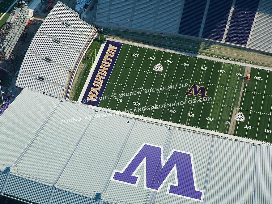 Husky Stadium on the University of Washington (UW) campus in Seattle