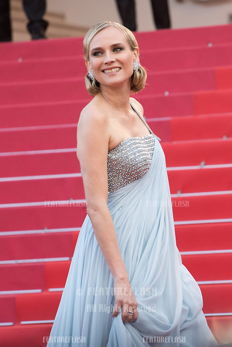 CANNES, FRANCE - MAY 13:  Diane Kruger attends the screening of 'Sink Or Swim (Le Grand Bain)' during the 71st annual Cannes Film Festival at Palais des Festivals on May 13, 2018 in Cannes, France.<br /> Picture: Kristina Afanasyeva/Featureflash/SilverHub 0208 004 5359 sales@silverhubmedia.com
