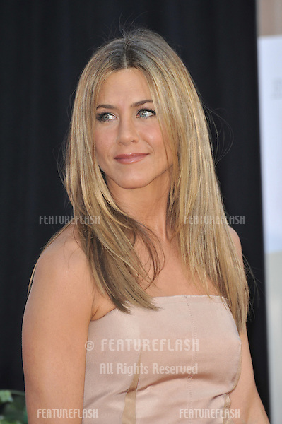 "Jennifer Aniston at the world premiere of her new movie ""The Switch"" at the Cinerama Dome, Hollywood..August 16, 2010  Los Angeles, CA.Picture: Paul Smith / Featureflash"