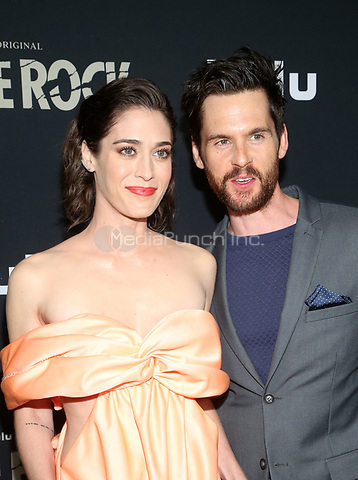 "14 October 2019 - Los Angeles, California - Lizzy Caplan, Tom Riley. Premiere Of Hulu's ""Castle Rock"" Season 2 held at The AMC Sunset 5. Photo Credit: FayeS/AdMedia /MediaPunch"