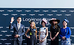 Eddie Peng, Longines Ambassador of Elegance, attends the Longines Prize for Elegances Presentation during the Longines Hong Kong International Races at Sha Tin Racecourse on December 10 2017, in Hong Kong, Hong Kong. Photo by Victor Fraile / Power Sport Images