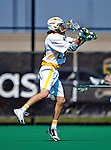3 April 2010: University of Vermont Catamounts' Midfielder Zack Telander, a Freshman from Lake Forest, IL, in action against the Binghamton University Bearcats at Moulton Winder Field in Burlington, Vermont. The Catamounts defeated the visiting Bearcats 11-8 in Vermont's opening home game of the 2010 season. Mandatory Credit: Ed Wolfstein Photo