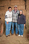 Families gather after Christmas at the Cuneo Ranch in California's Mother Lode. Terry, Gary and Thelma.