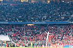 14.04.2018, Allianz Arena, Muenchen, GER, 1.FBL,  FC Bayern Muenchen vs. Borussia Moenchengladbach, im Bild  die Borussen verabschieden sich von den Fans<br /> <br />  Foto &copy; nordphoto / Straubmeier