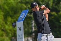 Jordan Spieth (USA) watches his tee shot on 14 during round 2 of the AT&amp;T Byron Nelson, Trinity Forest Golf Club, at Dallas, Texas, USA. 5/18/2018.<br /> Picture: Golffile | Ken Murray<br /> <br /> <br /> All photo usage must carry mandatory copyright credit (&copy; Golffile | Ken Murray)