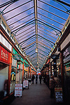 A752N2 Glass roofed Victoria arcade Great Yarmouth Norfolk England