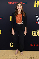 """LOS ANGELES - FEB 29:  Jamie Lee at the """"Andre The Giant"""" HBO Premiere at the Cinerama Dome on February 29, 2018 in Los Angeles, CA"""
