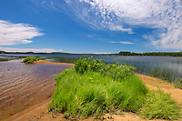 Shoreline on Lac des Sables<br />