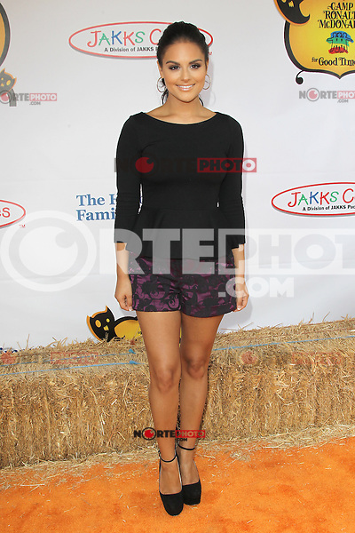 UNIVERSAL CITY, CA - OCTOBER 21:  Pia Toscano at the Camp Ronald McDonald for Good Times 20th Annual Halloween Carnival at the Universal Studios Backlot on October 21, 2012 in Universal City, California. © mpi28/MediaPunch Inc. /NortePhoto