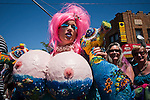 USA-NewYork-Mermaid parade in New York