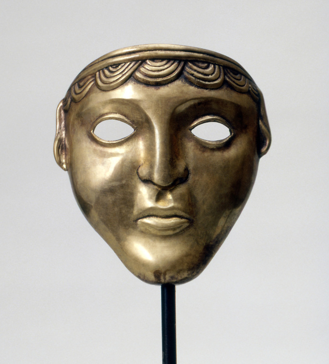 Greek Man Mask
