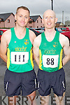 Pictured at the Kerryhead Half Marathon in Ballyheigue on Sunday, from left: Joe O'Connor (riocht) and Donal O'Callaghan (riocht)..