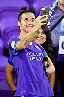 Orlando, FL - Saturday July 07, 2018: Carson Pickett, Fans during the second half of a regular season National Women's Soccer League (NWSL) match between the Orlando Pride and the Washington Spirit at Orlando City Stadium. Orlando defeated Washington 2-1.