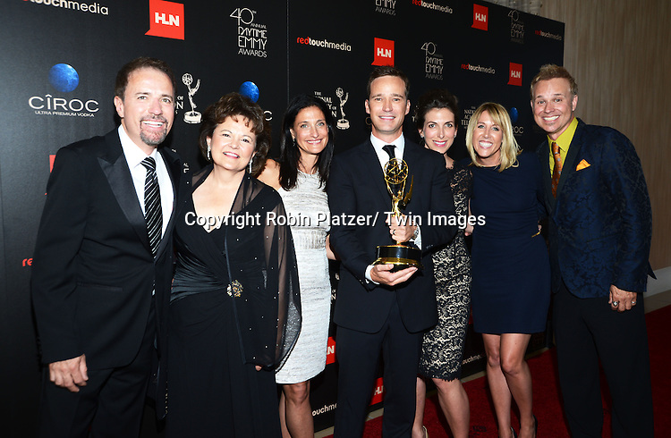 winners for Best Game Show attends The 40th Annual Daytime Emmy Awards on<br />  June 16, 2013 at the Beverly Hilton Hotel in Beverly Hills, California.