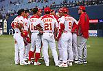 China National Team Group (CHN), .February 27, 2013 - WBC : .2013 World Baseball Classic, Exhibithion Game .match between China 1-8 ORIX Buffaloes .at Kyocera Dome, Osaka, Japan..(Photo by AJPS/AFLO SPORT)