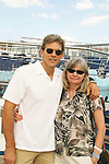 Grant Aleksander and wife Sherry Ramsey aboard Carnival's Glory leaving New York City - Day 1 July 31, 2010 - So Long Springfield at Sea - A Final Farewell To Guiding Light sets sail from NYC to St. John, New Brunwsick and Halifax, Nova Scotia from July 31 to August 5, 2010  aboard Carnival's Glory (Photos by Sue Coflin/Max Photos)
