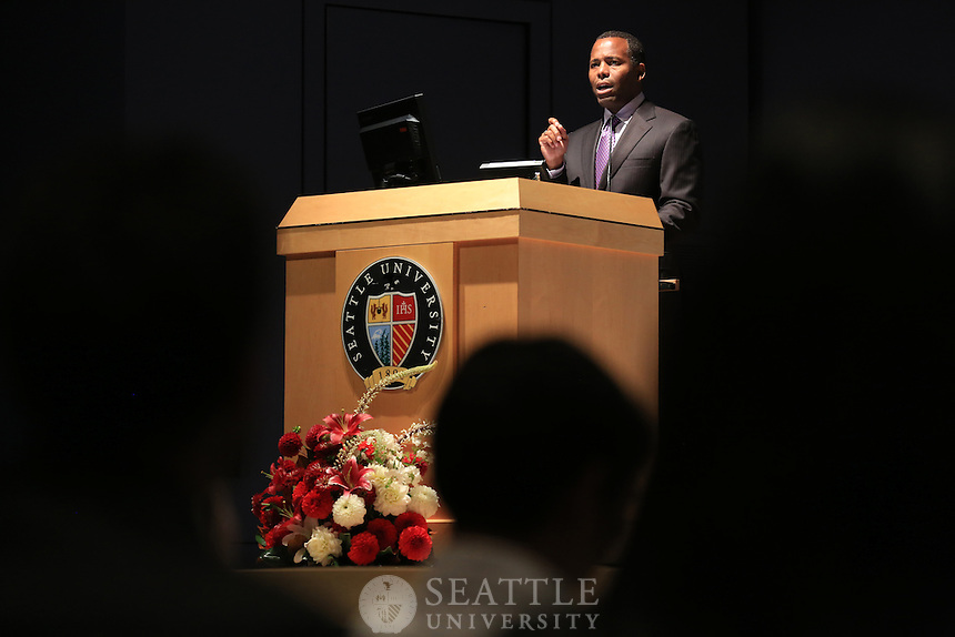 09202012- Seattle University Provost Convocation with Isiaah Crawford