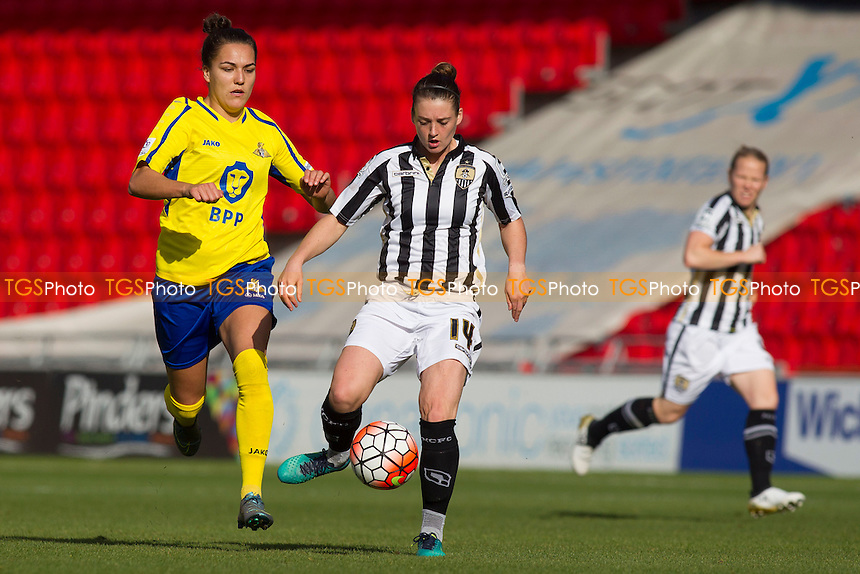 Jade Moore (Notts County) during Doncaster Rovers Belles vs Notts County Ladies, FA Women's Super League FA WSL1 Football at the Keepmoat Stadium on 16th October 2016