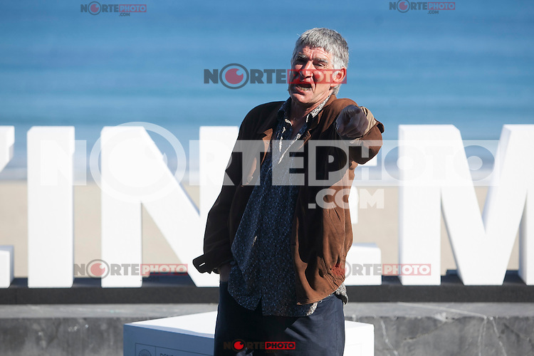 Actor Kandido Uranga poses during `Amama´ film presenation at 63rd Donostia Zinemaldia (San Sebastian International Film Festival) in San Sebastian, Spain. September 21, 2015. (ALTERPHOTOS/Victor Blanco) /NortePhoto.com