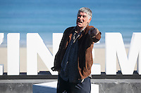Actor Kandido Uranga poses during `Amama´ film presenation at 63rd Donostia Zinemaldia (San Sebastian International Film Festival) in San Sebastian, Spain. September 21, 2015. (ALTERPHOTOS/Victor Blanco) /NortePhoto.com
