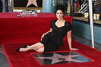 NOV 09 Sarah Silverman Hollywood Walk Of Fame Ceremony