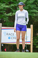 Michelle Wie (USA) watches her tee shot on 18 during round 3 of  the Volunteers of America Texas Shootout Presented by JTBC, at the Las Colinas Country Club in Irving, Texas, USA. 4/29/2017.<br /> Picture: Golffile | Ken Murray<br /> <br /> <br /> All photo usage must carry mandatory copyright credit (&copy; Golffile | Ken Murray)