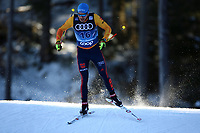 31st December 2019; Dobbiaco, Toblach, South Tyrol, Italy;  FIS Tour de Ski - Cross Country Ski World Cup 2019  in Dobbiaco, Toblach, on December 31, 2019; Lucas Boegl of Germany in the Mens individual 15km