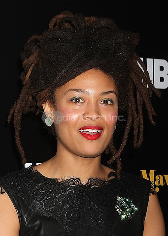 NEW YORK, NY - FEBRUARY 24:  Valerie June at the New York premiere of HBO Documentary Films' 'Mavis!', the documentary about Rock and Roll Hall of Famer and 2016 Grammy winner Mavis Staples in New York, New York on February 24, 2016.  Photo Credit: Rainmaker Photo/MediaPunch