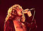 Led Zeppelin  1977 Robert Plant........