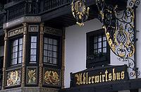 Europe/Allemagne/Forêt Noire/Hausern : Hôtel Adler