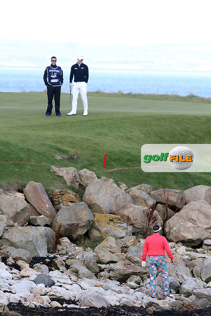 Sr Iam Botham (AM) on the 16th in Kingsbarns on the 3rd Day at the Alfred Dunhill Links Championship, Old Course St. Andrews, Carnoustie and Kingsbarns, Scotland...(Photo Jenny Matthews/www.golffile.ie)