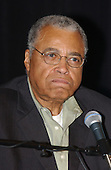 """Celebrated actor James Earl Jones speaks at a press availability as he rehearsed for the """"Concert for America"""" at the John F. Kennedy Center in Washington, DC on Monday, September 9, 2002..Credit: Ron Sachs / CNP .(RESTRICTION: NO New York or New Jersey Newspapers or newspapers within a 75 mile radius of New York City)"""