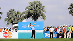 TAIPEI, TAIWAN - NOVEMBER 20:  Roger Chapman of England tees off on the 1st hole during day three of the Fubon Senior Open at Miramar Golf & Country Club on November 20, 2011 in Taipei, Taiwan. Photo by Victor Fraile / The Power of Sport Images