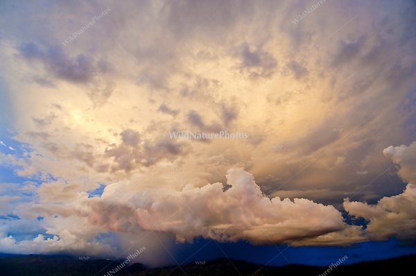 Monsoon Storm over the Catalina Mountains of Tucson