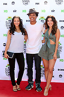 LOS ANGELES - SEP 8:  Danielle Vega, Casey Motley, Ashley Campuzano at the EIF Presents: XQ Super School Live at the Barker Hanger on September 8, 2017 in Santa Monica, CA